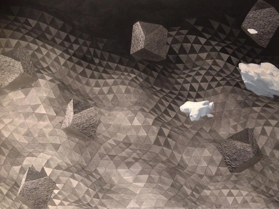 Triangular sea